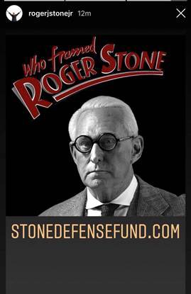 roger stone who framed roger stone cover