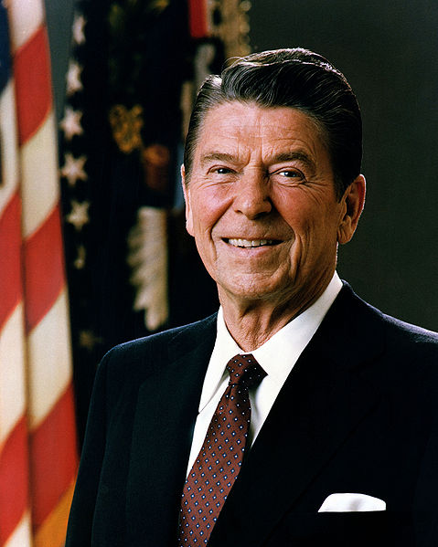 ronald reagan 1981 w
