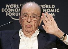rupert murdoch 2009 world economic forumw