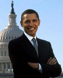 barack obama smile HR