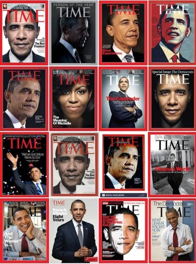barack obama time covers Custom