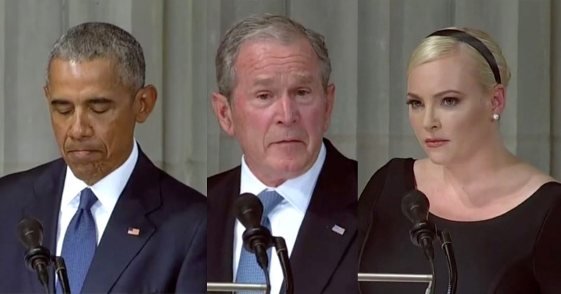 bo george w bush meghan mccain 9 1 201 funeral file Small