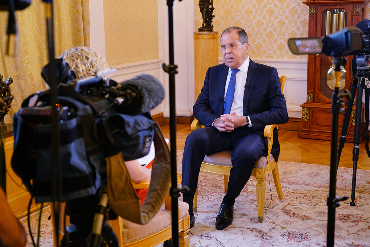 sergei lavrov channel 4 moscow june 30 2018