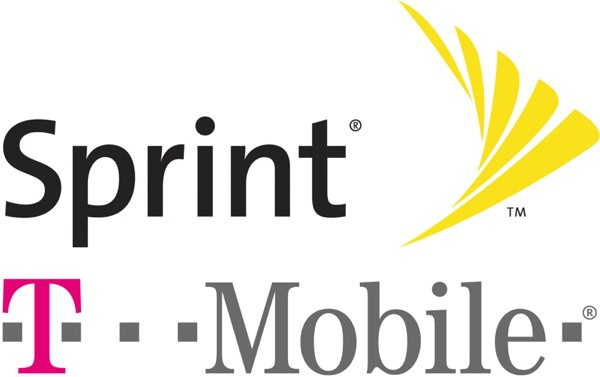 sprint tmobile logos