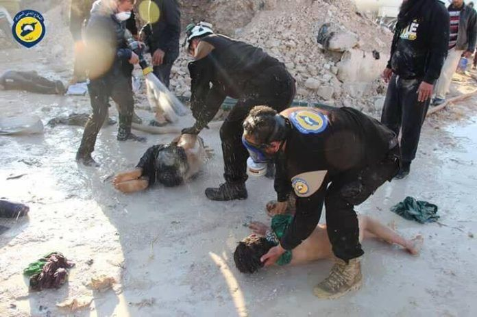 syria white helmets attack april 2017