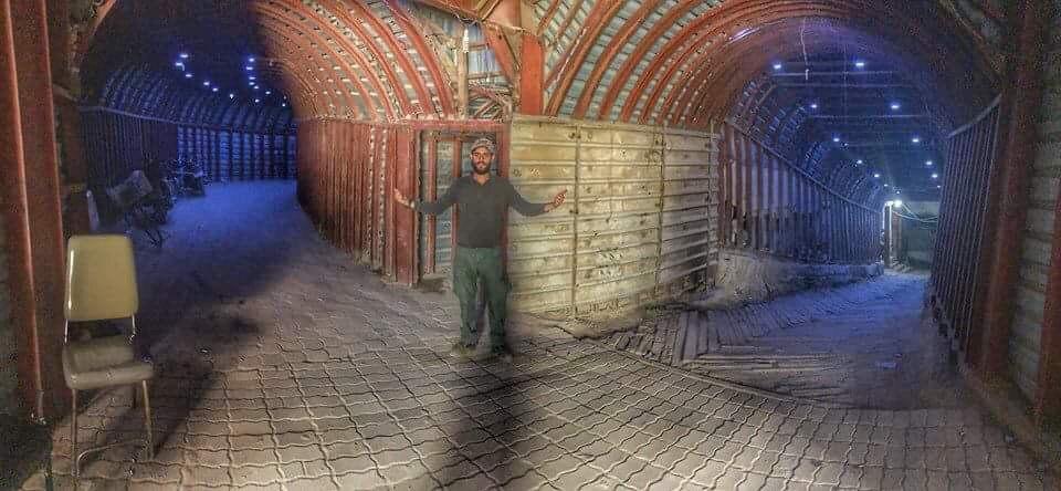 syrian tunnels douma hospital