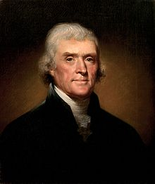 thomas jefferson rembrandt Peale 1800