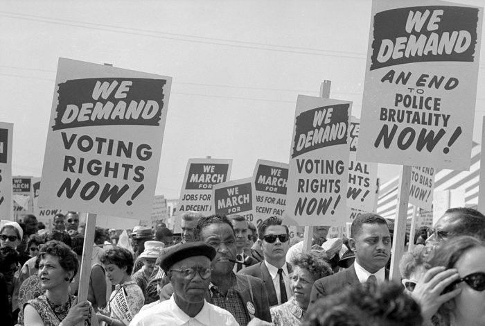 voting rights marchers 1963 usnews world report library of congress