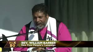 william barber poor people campaign