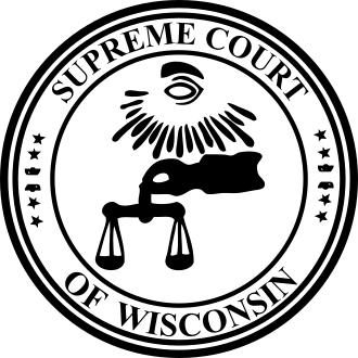 wisconsin supreme court seal Custom