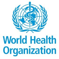 world health organization logo Custom
