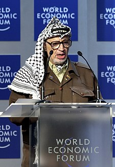 yasser arafat world economic forum 2001