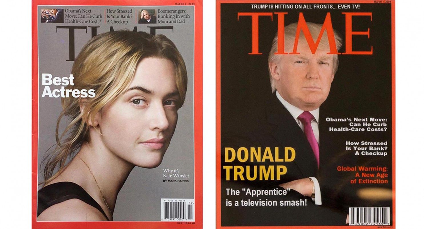 djt fake time covers composite