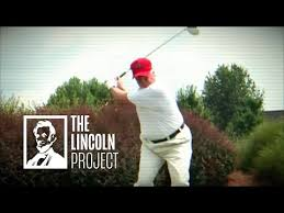 djt lincoln project golf