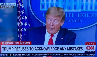 djt mistake refusal cnn april 13 2020 Custom