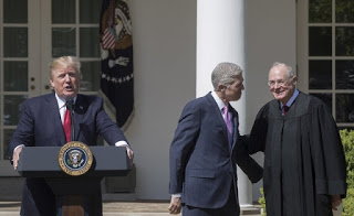 djt neil gorsuch anthony kenned at white house