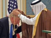 djt saudi medal may 20 2017 afp