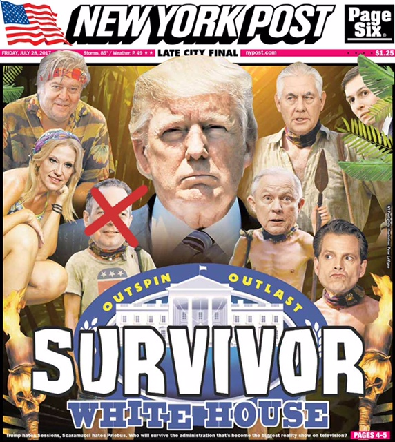 djt staff nypost cover july 29 17
