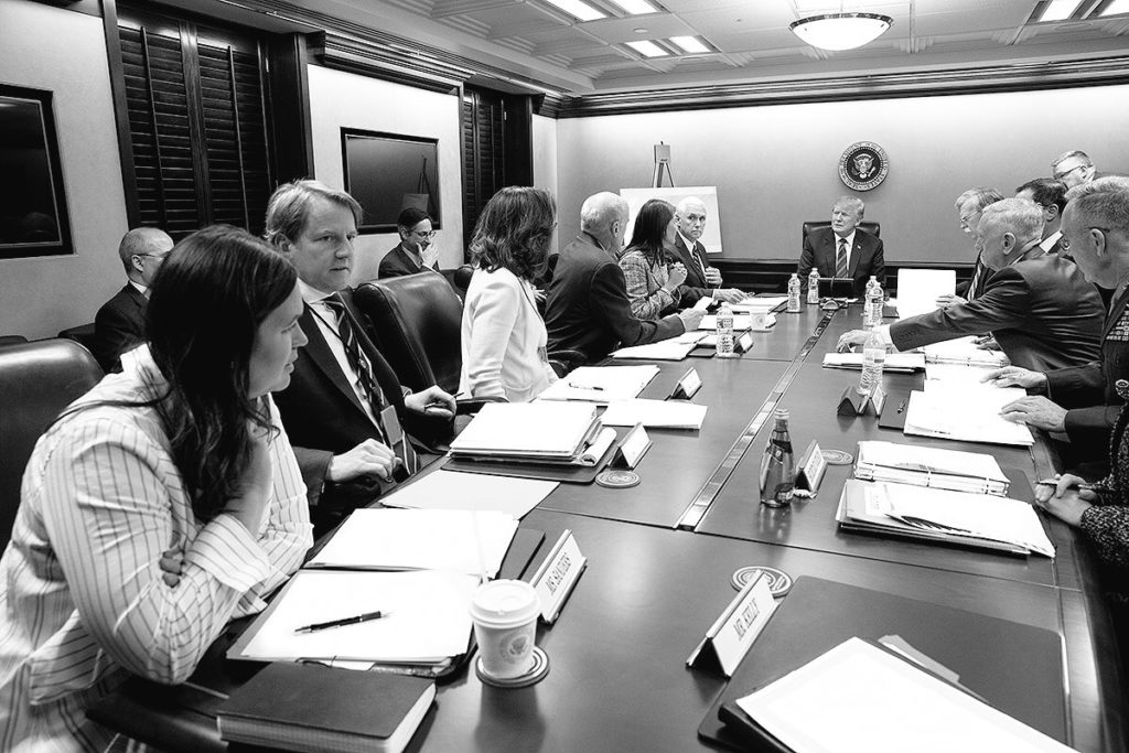 djt syria briefing wh photo