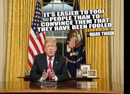 djt twain quote on fooling people indicter Custom