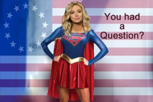 djt tweet kayleigh supergirl Custom