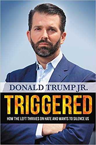 donald trump jr book cover triggered