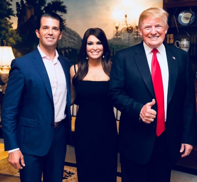 donald trump jr kimberly guilfoyle and donald trump