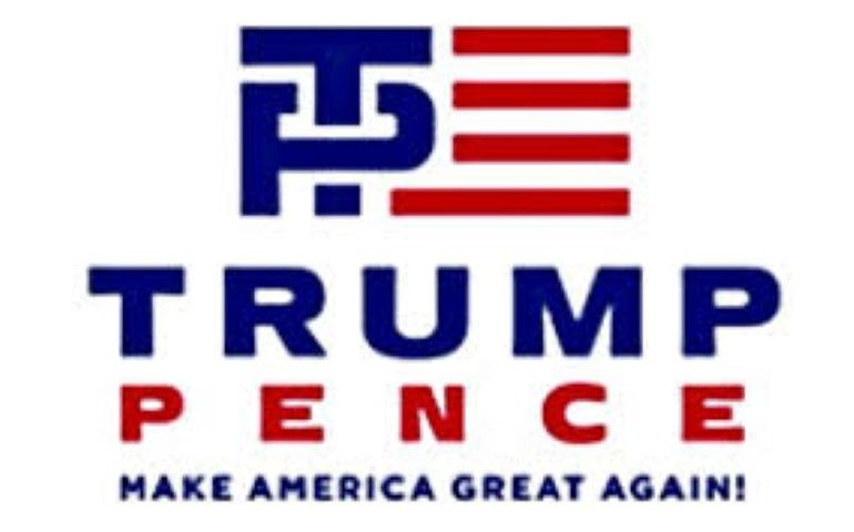 donald trump mike pence logo Small