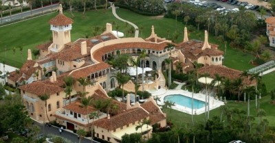 mar a lago aerial Custom