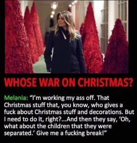 melania trump xmas quotes resized graphic