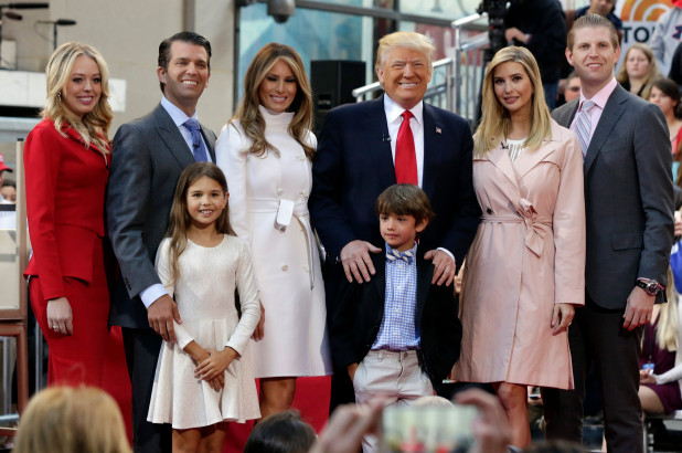 trump family london june 2019