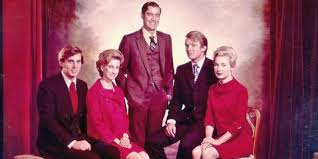 Trump Siblings, from left, Robert Trump, Elizabeth Trump Grau, Fred Trump Jr., Donald Trump, Maryanne Trump Barry (Trump family photo).