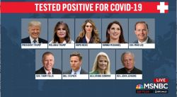 white house positive for covid resized 10 3 20 msnbc