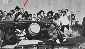 Joseph Milteer in Dallas with Kennedys (Algens Historical Photo)