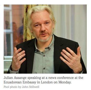 Julian Assange file photo (John Stillwell)