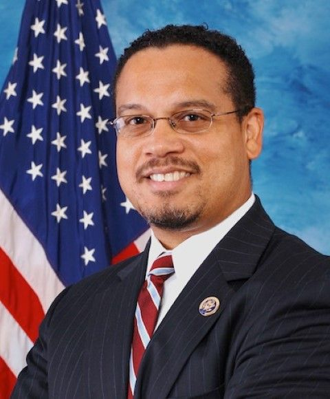 U.S. Rep. Keith Ellison (D-MN), candidate for DNC chairman