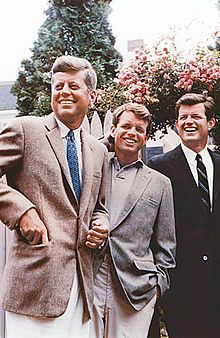 John, Robert and Ted Kennedy (Courtesy Wikipedia)