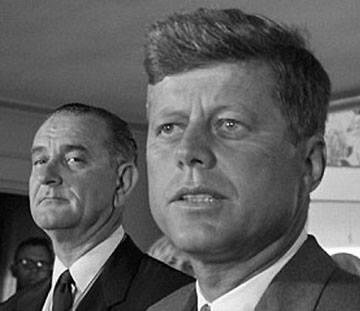 Lyndon B. Johnson, John Kennedy