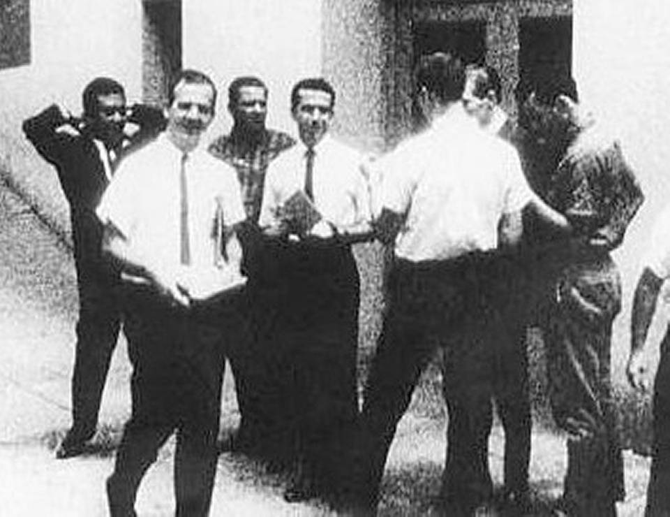 Lee Harvey Oswald, Aug. 16, 2016 Johann Rush/WSDU-TV
