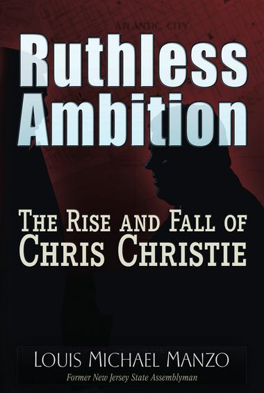 Louis Manzo Ruthless Ambition Cover