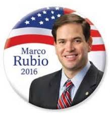 Marco Rubio Button