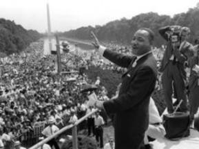 Martin Lurther King at DC March 1963