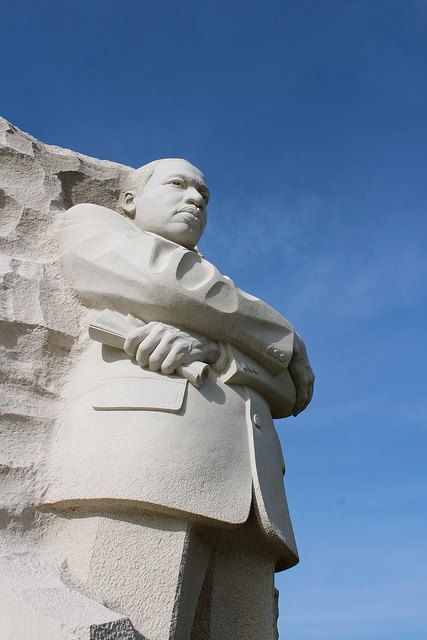 Martin Luther King Statue on Mall