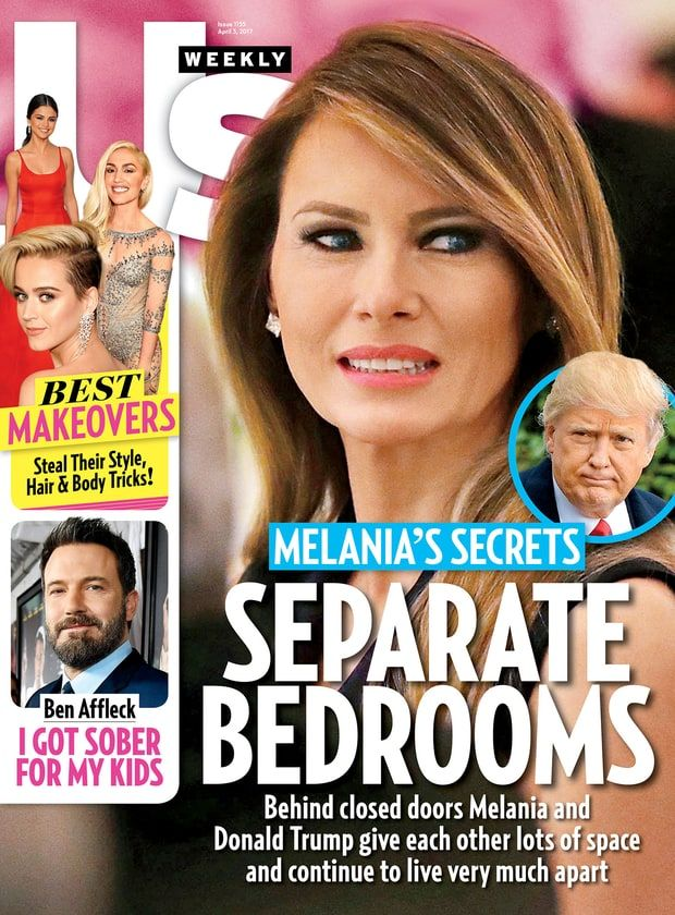 ... D.C., in NYC's Trump Tower while Barron finishes the school year —  refuses to share a bed with Donald even on the rare occasions when they  sleep in the ...