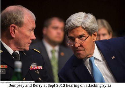 Michaael Dempsey and John Kerry