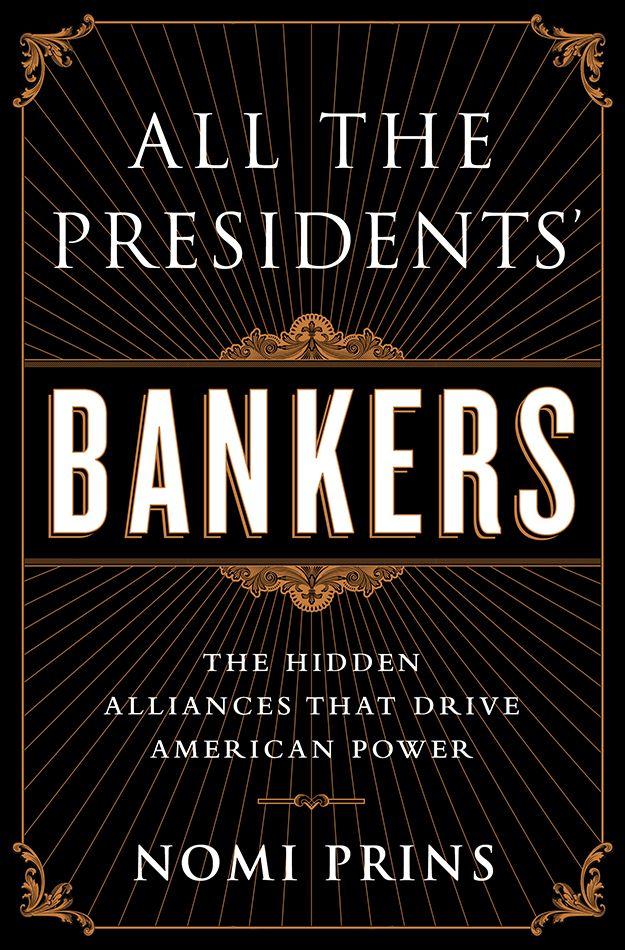 Nomi Prins Bankers Cover