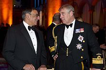 Prince Andrew and Leon Panetta 2011, National Building Museum wikipedia