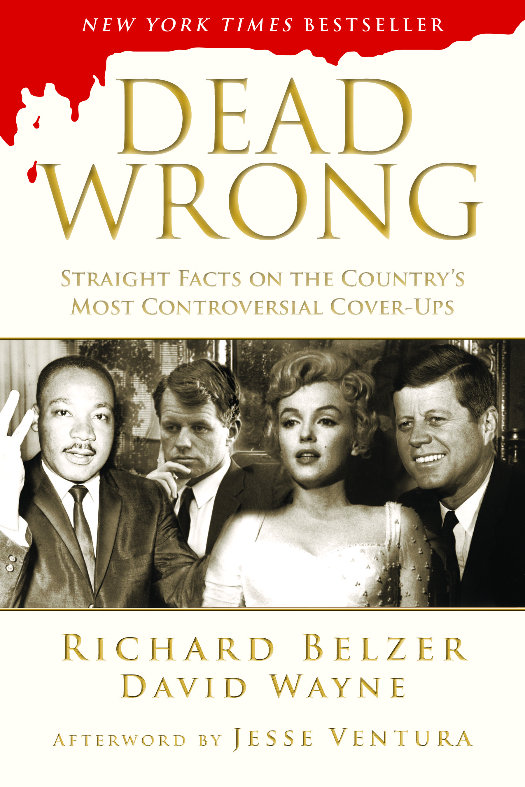 Richard Belzer Dead Wrong cover