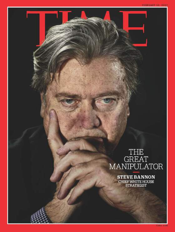 Stephen K. Bannon Times Cover February 2017