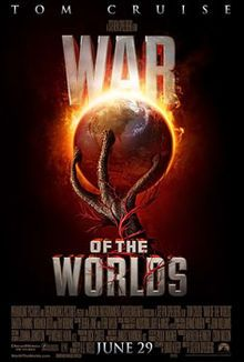 Steven Spielberg War of the Worlds Poster